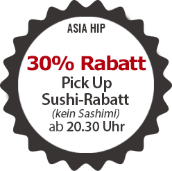 30% Pick Up-Sushi-Rabatt
